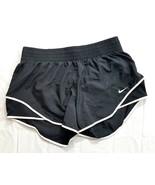 Nike Dri-Fit Women's Running Fitness Shorts Medium Black W/Lining   - $26.99