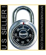 US SELLER & FREE S&H! GUARD SECURITY —3 DIGIT—DIAL COMBINATION LOCK—1500... - $7.95