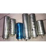 TV CAPACITOR vintage lot of 6 Sprague Mallory Auction find Sold as Not W... - $9.49
