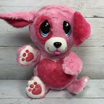 Fur Berries Strawberry Spaniel Pink Puppy Dog Plush Ball Spin Master 2007 Toy - $18.67