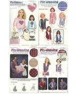 Lot Pin-Weaving Patterns Shapes Vests Weaving Grid Cambridge - $19.99