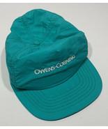 Vintage Owens-Corning Fiberglas Insulation Hat Light Blue Pink Panther Logo - $19.55