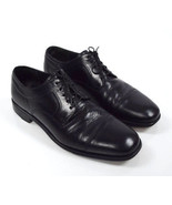 COLE HAAN CITY Black Leather Cap Toe Oxford Dress Casual Shoes Mens Size... - $19.79
