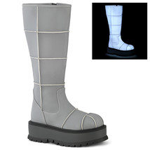 Demonia SLACKER-230 Women's Boots GYREFL - $104.95