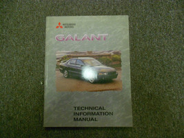 1999 MITSUBISHI Galant Technical Information Manual Service Repair Manua... - $19.76