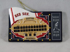 Team Sports America Resin Christmas Ornament - New - Boston Red Sox Fenw... - $16.14