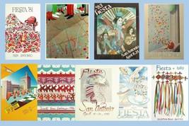 San Antonio Fiesta Poster 1981-1989 24 X 36 Inches Looks Beautiful - $19.94