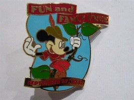 Disney Trading Pins 683 Countdown to the Millennium Series #97 (Fun and Fancy Fr - $9.50