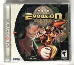 ☆ Evolution The World of Sacred Device (Sega Dreamcast 1999) COMPLETE Ga... - $19.99