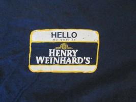 Henry Weinhards Beer T Shirt size XL - $2.99