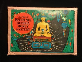 "1930s ""The Great Beech-Nut Buddha Money Mystery"" Folded Paper Magic Trick - $49.49"