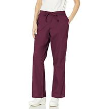 Unisex Scrub Pants DSF Medical Uniform Men Women 876, Wine, S - $11.87