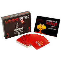 Exploding Kittens Cards Game Board Popular for Family Party Friend Playi... - $32.00