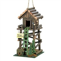 Ranger Station Brown Wood Birdhouse - $15.61