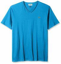 Lacoste Men's Premium Pima Cotton Sport Athletic Jersey V-Neck Shirt T-Shirt image 15