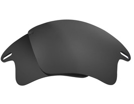Polarized Replacement Lenses for-Oakley Fast Jacket XL Frame Anti-Scratch Black - $8.80
