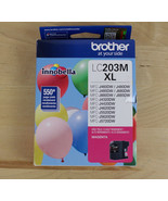 Brother Printer LC203M XL High Yield Magenta Ink Cartridge 11/2023 - $15.83