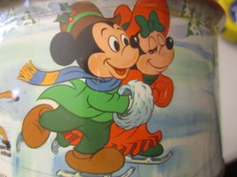 Walt Disney Merry Christmas Collector Tin Limited Edition Unopened Vinta... - $61.28