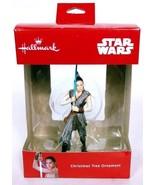 Hallmark Star Wars Rey Jedi Lightsaber Christmas Ornament - $12.80