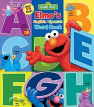 Sesame Street: Elmo's Word Book: An English/Spanish Flap Book (Lift-the-... - $11.74