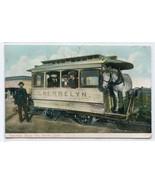 Cherrlyn Horse Rides Streetcar Denver Colorado 1910c postcard - $6.44