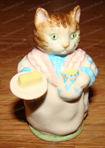 Beatrix Potter, Mrs Ribby (Royal Albert, 1989) England (F. Warne & Co.) Cat - $38.12