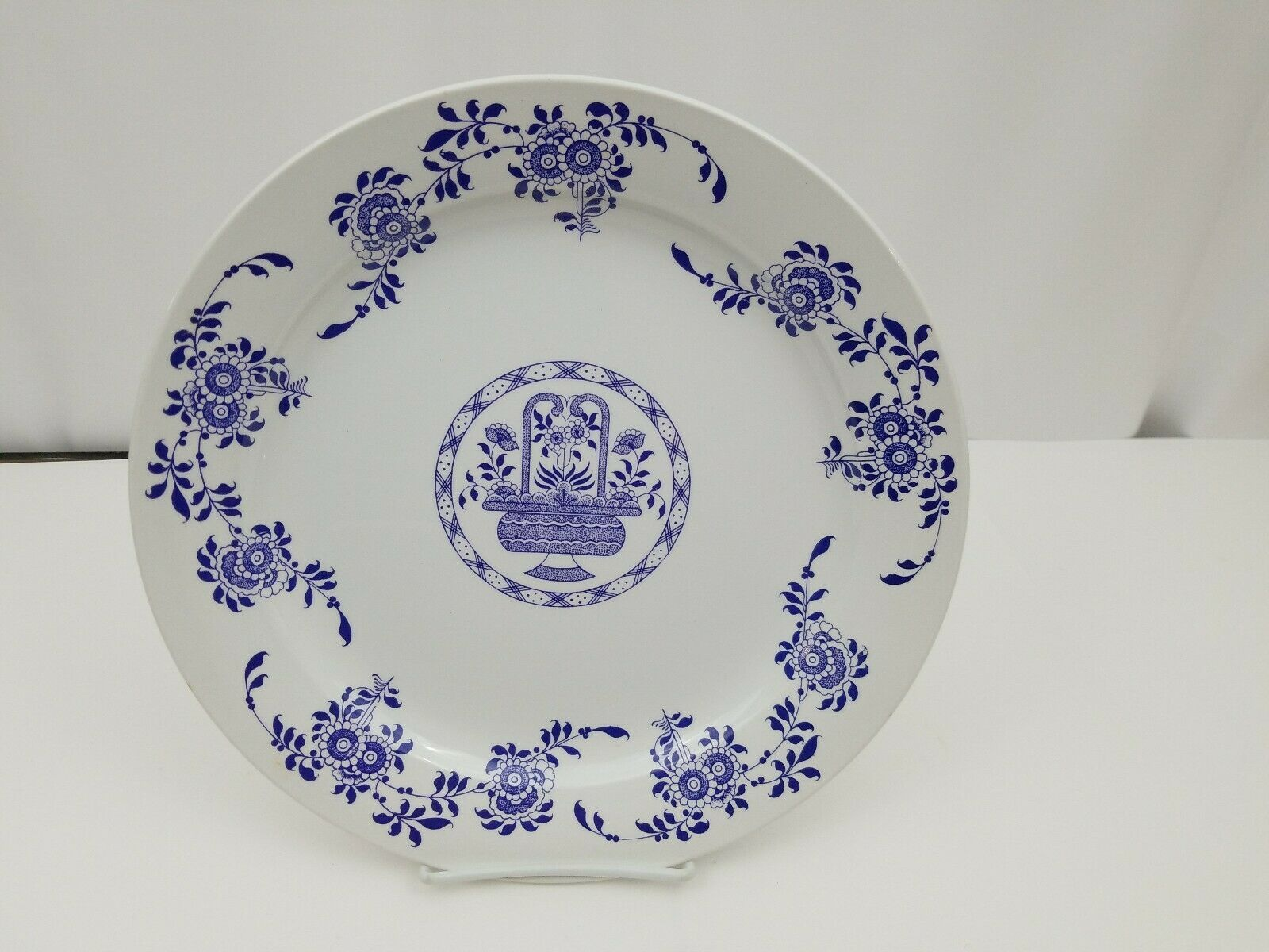 Diamondstone Laveno White Chop Plate / Platter Ceramic Made in Italy 11.5""