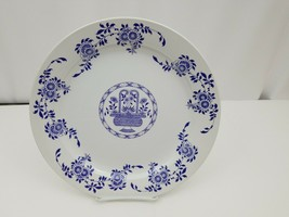 "Diamondstone Laveno White Chop Plate / Platter Ceramic Made in Italy 11.5"" image 1"
