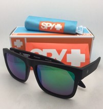Polarized SPY OPTIC Sunglasses DISCORD Matte Black Frame w/ Bronze+Green... - $159.95
