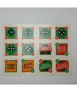 Showdown Yahtzee Cards Full Set Replacement Game Parts 4202  - $7.99