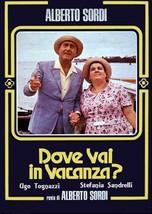 DOVE VAI IN VACANZA? 1978 Mauro Bolognini, Ugo Tognazzi, Stefania Sandre... - $18.00