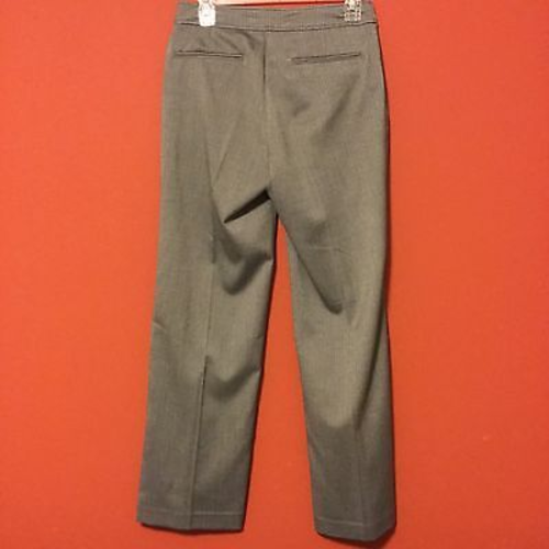 NWT $98 Not Your Daughter's Jeans 4P Tummy Tuck Gray Herringbone Trousers