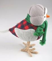 Target Christmas Bird Figure Holiday Decor 2019 Bayham Featherly Snow Bird image 2