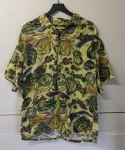 Men's Harley Davidson Short Sleeve Button Front Shirt Size XXL Hawaiian ... - $29.69