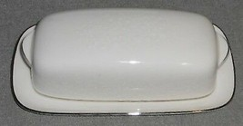 Carico Fine China CHANTILLY PATTERN Two Piece BUTTER DISH Made in Japan - $69.29