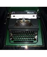1050's Olympia typewriter - Original Western Germany case and keys - ONE... - $325.00