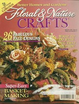 Floral & Nature Crafts Magazine Better Homes and Gardens September 1996  - $4.99