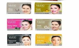 VLCC Silver Gold Party Glow Pearl Diamond Facial Kit 60gm Choose as Requ... - $16.76