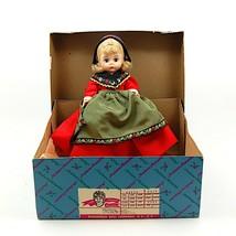 "Madame Alexander Sweden 592 International Doll with Original Box 8"" 20 cm - $23.74"