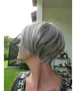 FUN Short Straight Wig~Two Toned~Cosplay Halloween~Adjustable Cap~Can Be Styled - $29.99