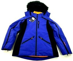new Avalanche women ski jacket coat hooded 3-in-1 AL8506 royal blue sz S... - $59.39