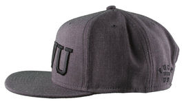 Crooks & Castles F.W.U Fu*k with Us Heather Charcoal Snapback Baseball Hat NWT image 5