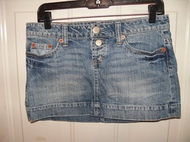 American Eagle Mini Skirt Button Fly Size 4 Women's Euc - $17.94
