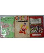 Pink Motel Carol Ryrie Brink 3 LOT Charles Coombs Circus Parade Highly T... - $50.00