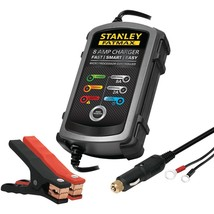STANLEY BC8S 8-Amp FatMax(R) Battery Charger & Maintainer - $52.79