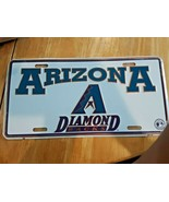 Arizona Diamondbacks MLB baseball team embossed metal License Plate, emb... - $14.84
