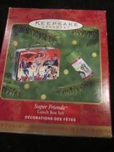 HALLMARK KEEPSAKE ORNAMENT 2000 SUPER FRIENDS LUNCH BOX SET BRAND NEW - $9.99