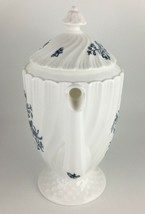 Royal Worcester Blue Sprays Coffee pot & lid  image 2