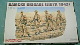 NIOB Dragon 6142, 4 German Paratroopers Ramcke Brigade Libya 1942, 1/35 ... - $16.69