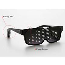 CHEMION 2 Smart Bluetooth LED Sunglasses Club Party Sports Glasses (1pair) image 1